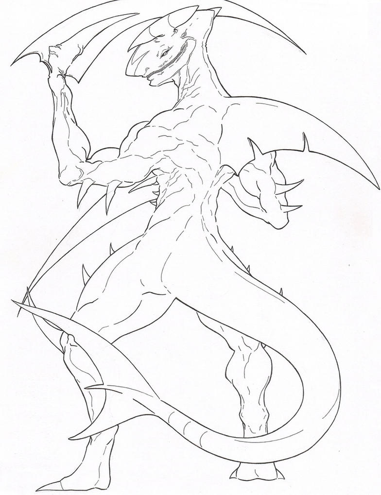Mega Greninja Coloring Pages Coloring Pages