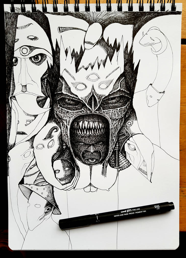 Sketchbook 2019 / I  ..in progress by jeremyfamir