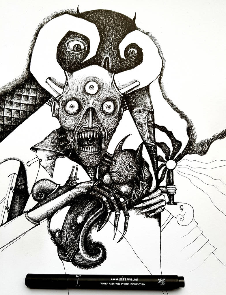 fear has big eyes....in progress 2019 by jeremyfamir