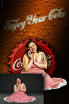 Enjoy your Coke (Before-after)