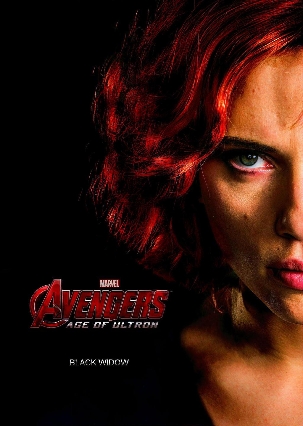 Black Widow Avengers Age Of Ultron Fan-Poster by ...
