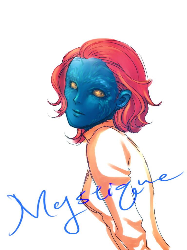 X Men First Class Mystique by