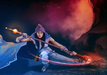 Sorceress by tasiorts