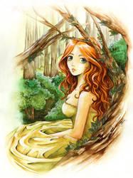 into the woods by E-f-e-u