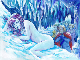 Snowqueen by E-f-e-u