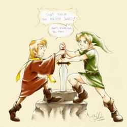 the sword in the stone by E-f-e-u