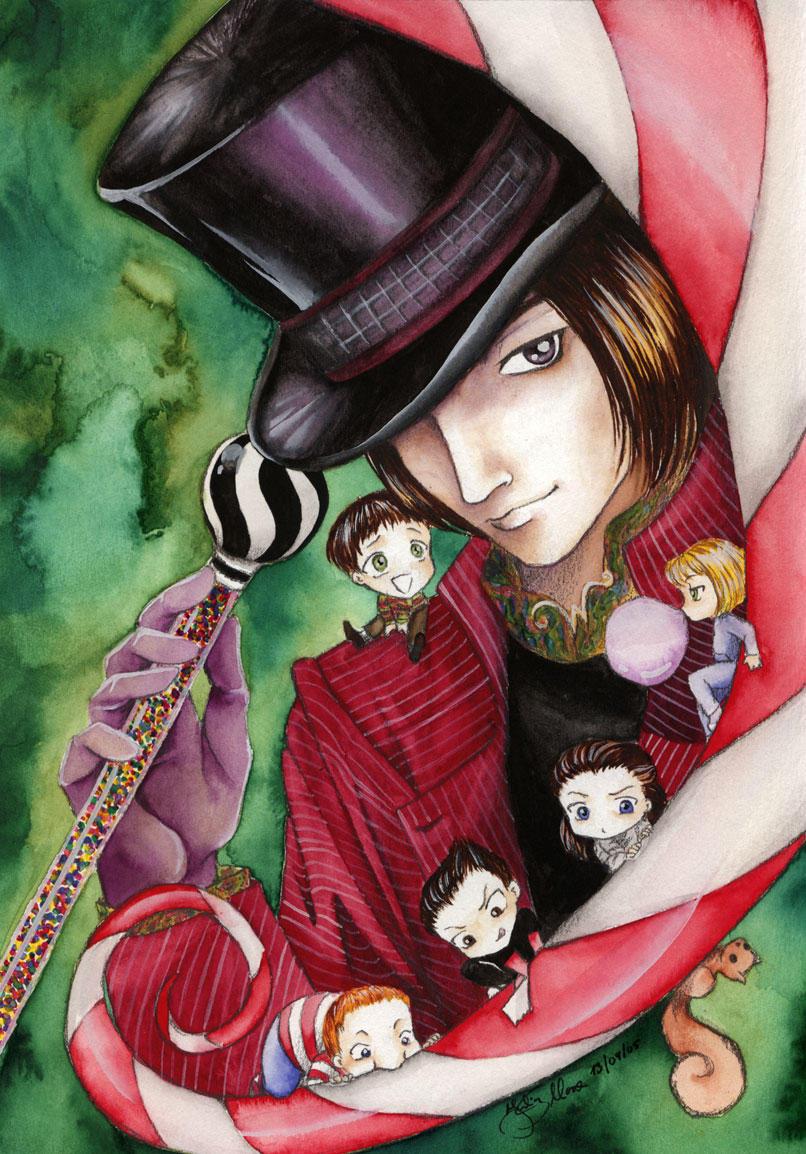 Willy Wonka, Willy Wonka, ... by E-f-e-u