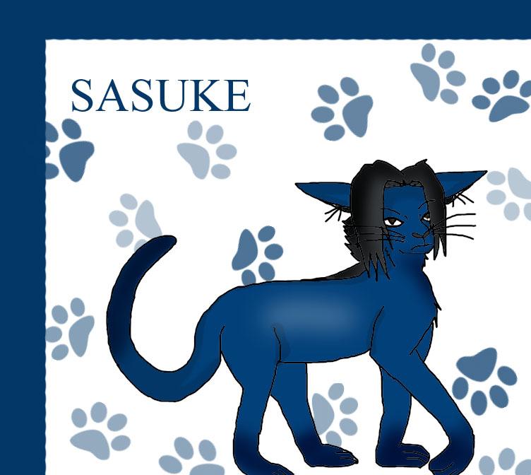Sasuke Cat by AliceBoceanu by CharactersAsAnimals on ...  Sasuke As A Cat