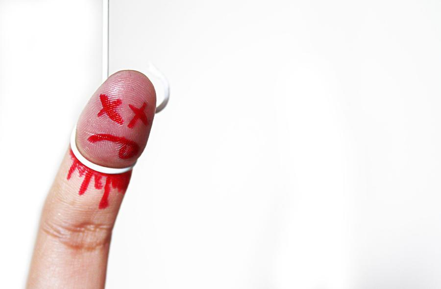 Finger Suicide by Michelle-ART