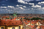 Praha roofs