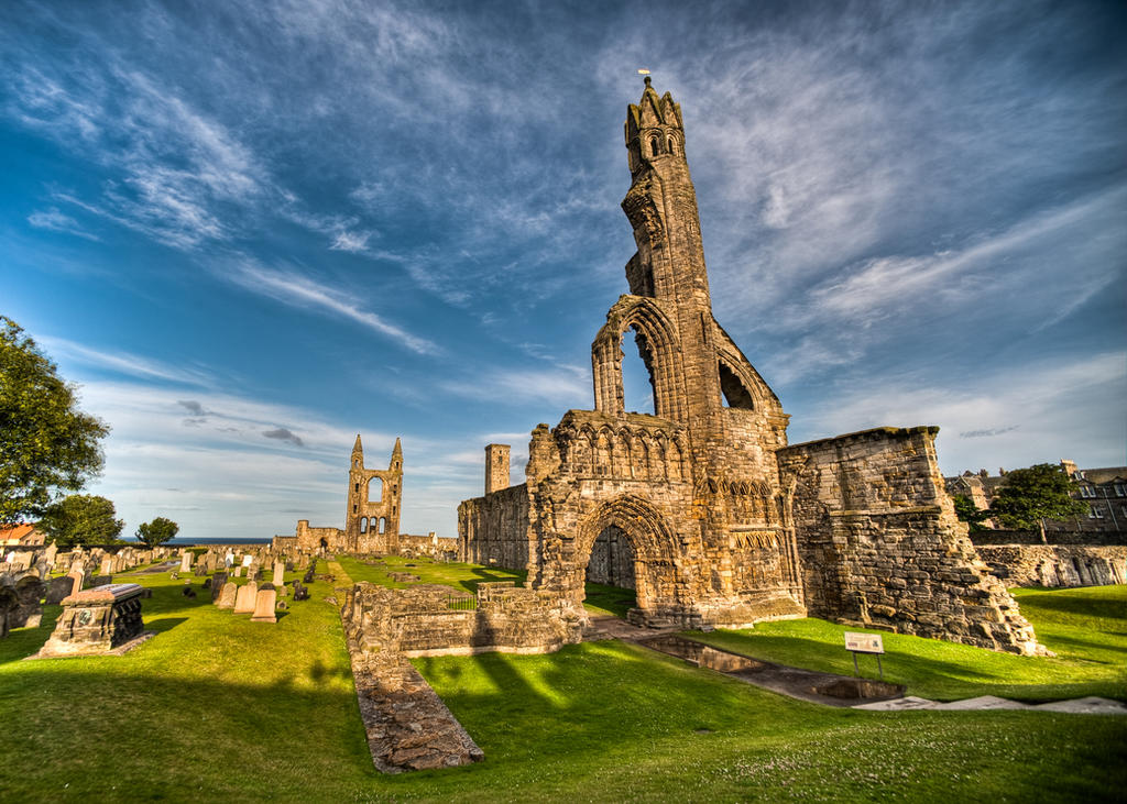 Ruins Of St. Andrews Cathedral By Yupa On DeviantArt