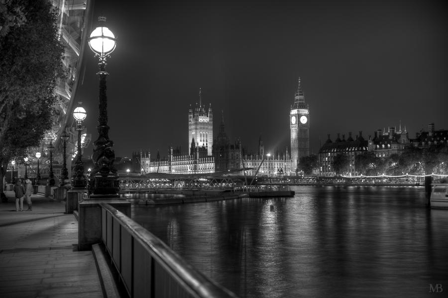 Big Ben and the Eye by Yupa
