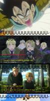 Vegeta's rage is everywhere