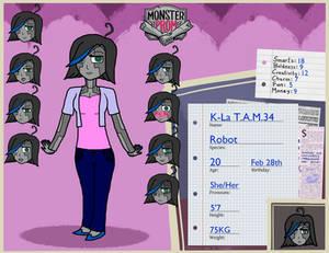 Monster Prom OC - K-La T.A.M.34