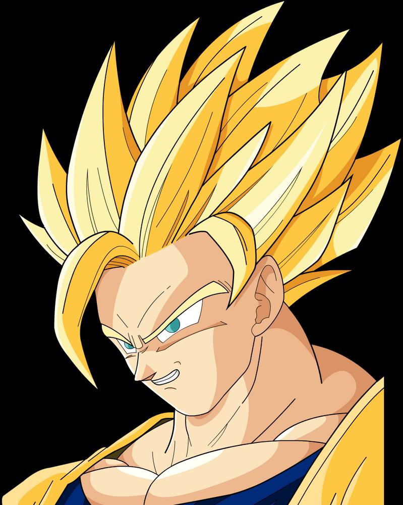 Son Goku SSJ2 by MrGekon on DeviantArt