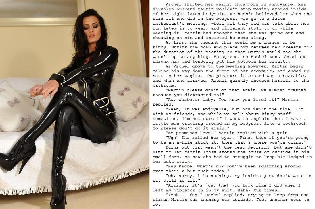 bondage rubber story