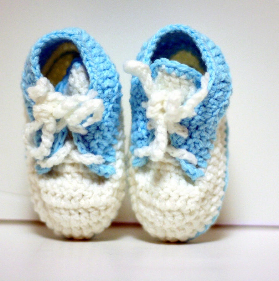 Free Crochet Pattern For Baby Shoe Sole : CROCHET BABY SHOES PATTERN Crochet Patterns