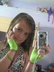 Neon Gloves 1