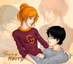 Harry and Ginny Intertwine