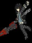 GE2 OC - Ruki's Blood Uniform