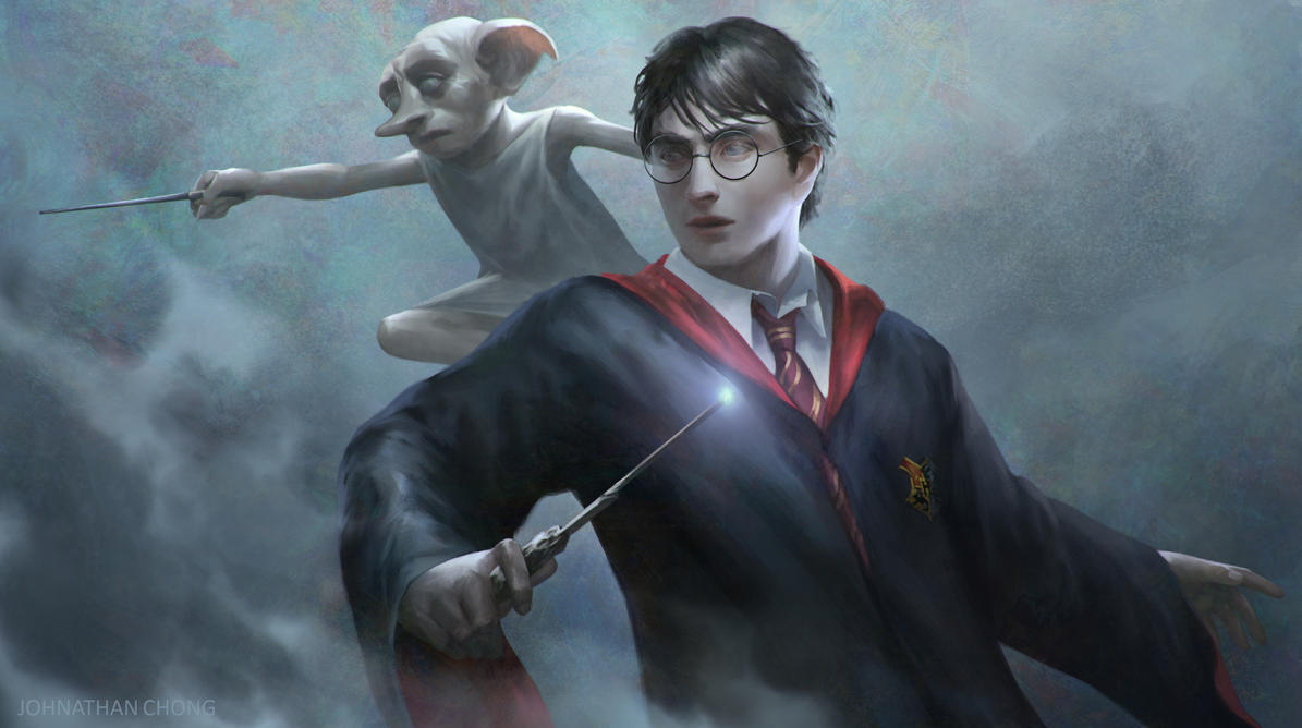 Harry Potter And Friends by JohnathanChong