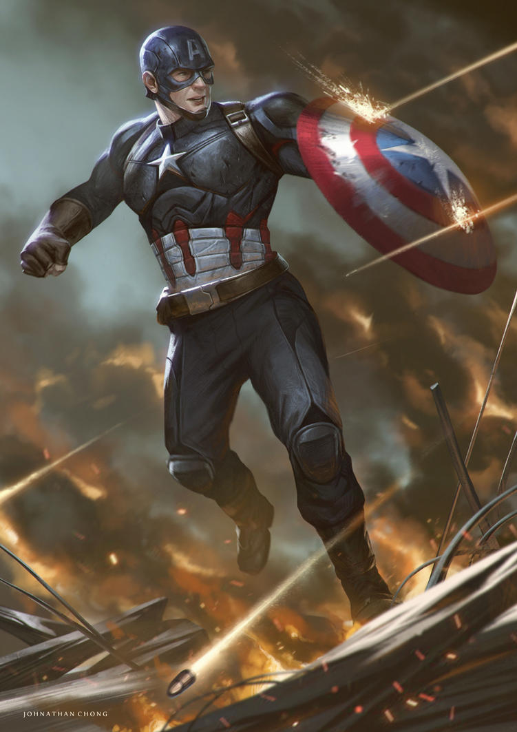 Steve Rogers by JohnathanChong