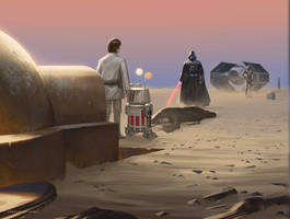 Without a New Hope ( Left ) by JohnathanChong