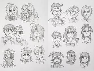 FMA Sketchdump 1 by MarshmallowBreeze