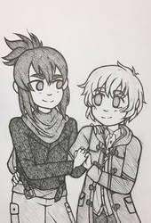 Nezumi and Shion by MarshmallowBreeze
