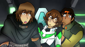 Voltron Nerd Trio by true-wing