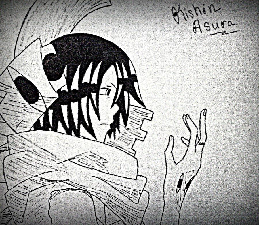 Little Asura From Soul Eater By Tekenblok On Deviantart