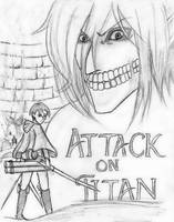 Attack On Titan -Sketch- by Demyboilover