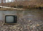 tv by the riverside