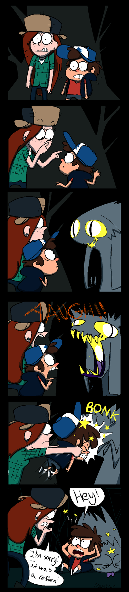 BONK! (Gravity Falls Comic) by PurplePassion3