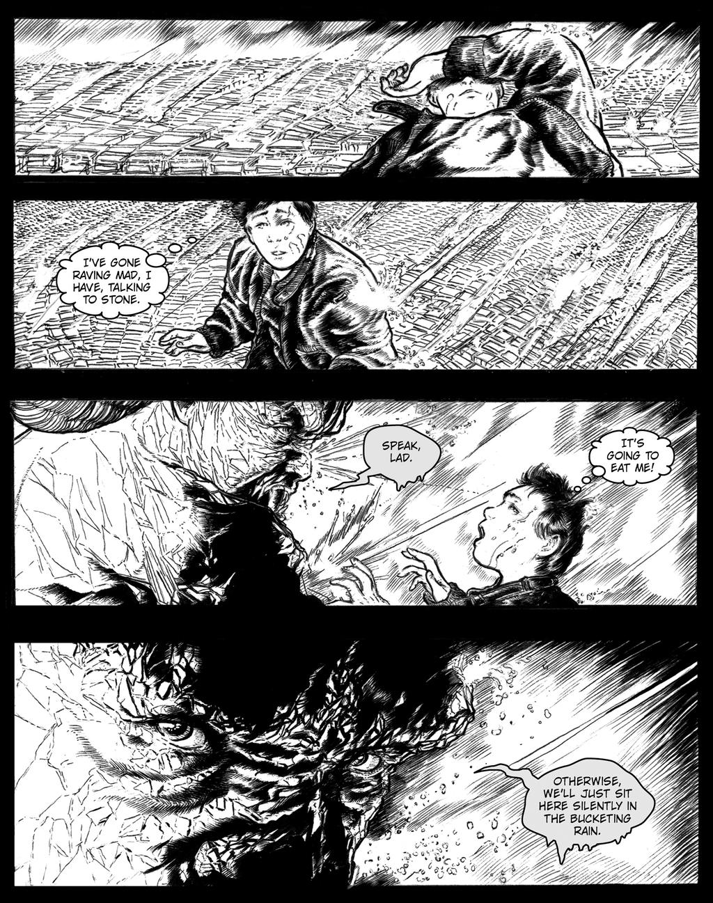 STONE COLD: THE STONE MAN MYSTERIES PAGE SIXTEEN by Orion-Zangara