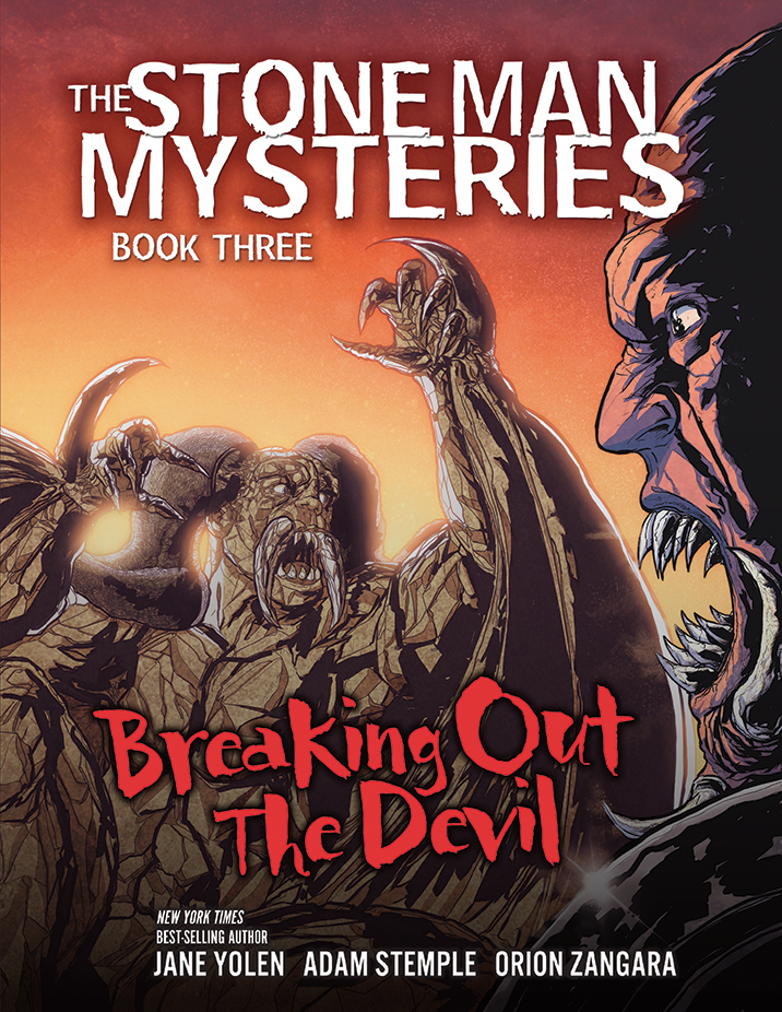 Breaking Out the Devil: Book 3 Cover by Orion-Zangara