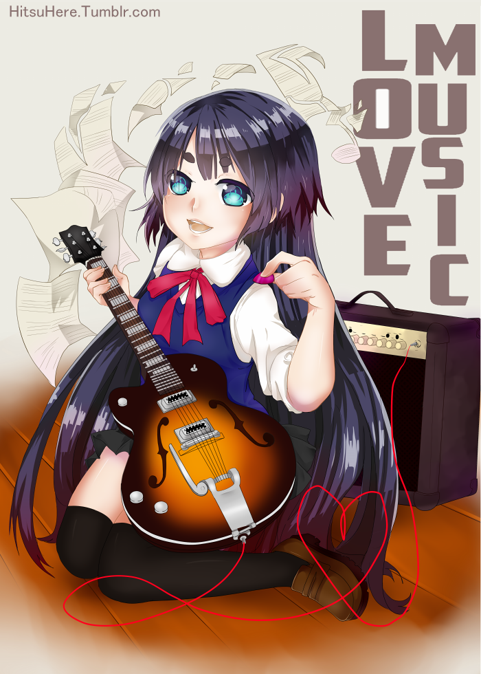 Guitar by HitsuHere