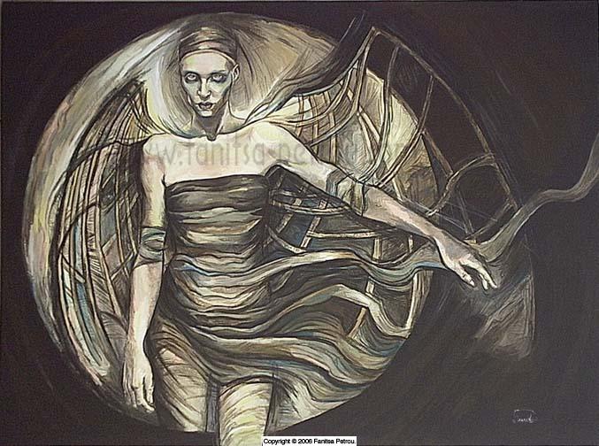 Bat Woman by fanitsafantasy