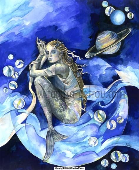 Mermaid by fanitsafantasy