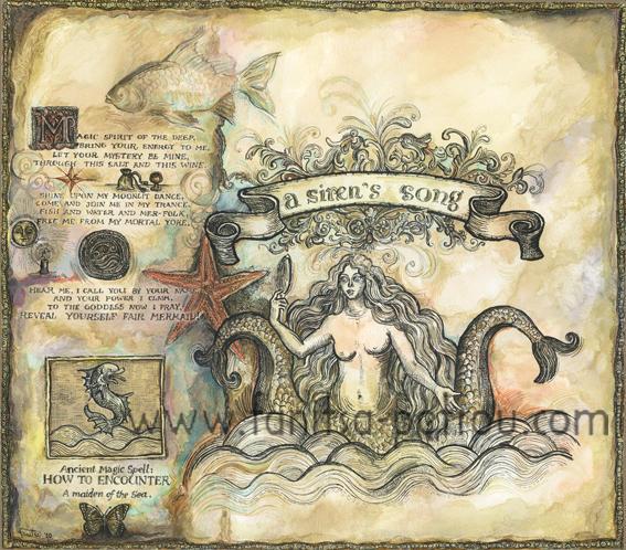 A Mermaid Spell-A siren's Song