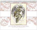 Angel Wall Calendar 1 by fanitsafantasy