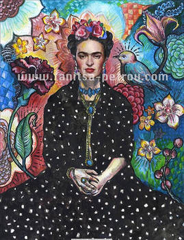 Frida flowers.