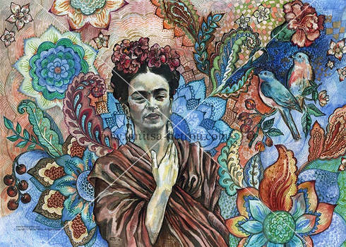Frida - sacred garden.