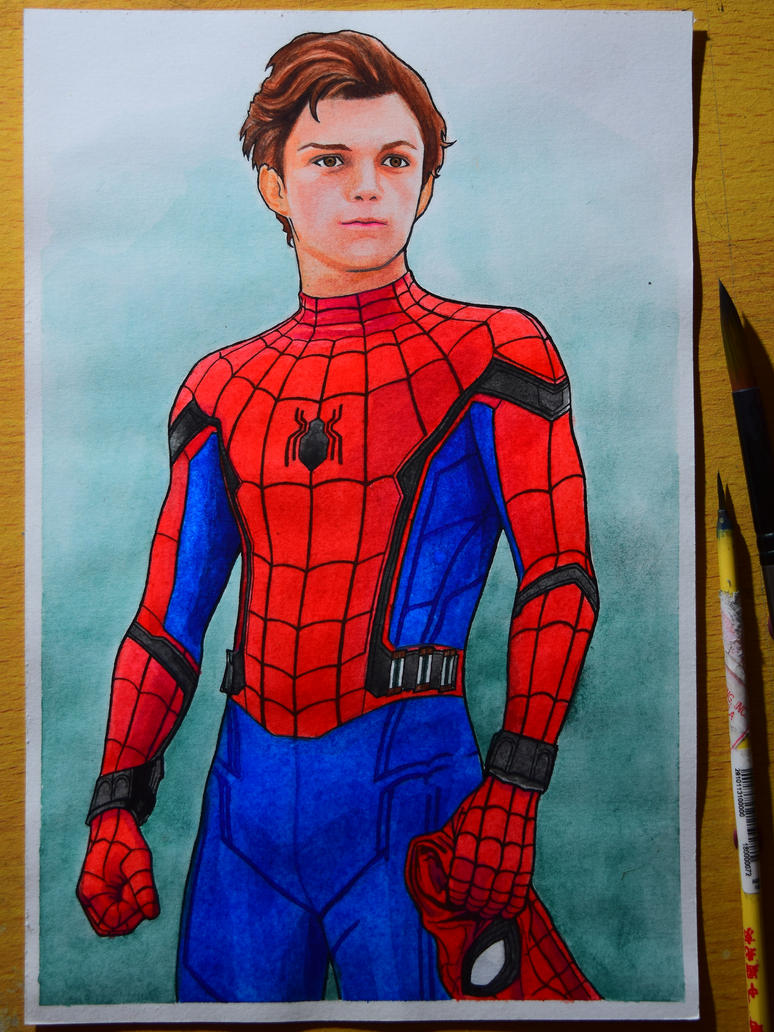 Spiderman Homecoming by edcarrascal