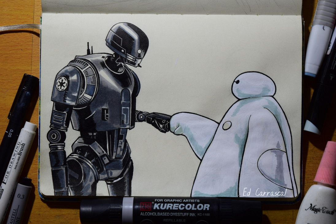 You're a weird Stormtrooper by edcarrascal