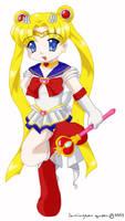 Sailor Moon by lamingtonqueen
