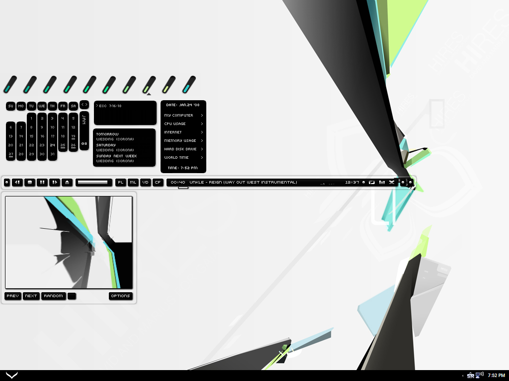 desktop for 08 by amphirion