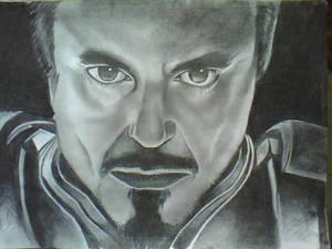 Robert Downey Jr. drawing
