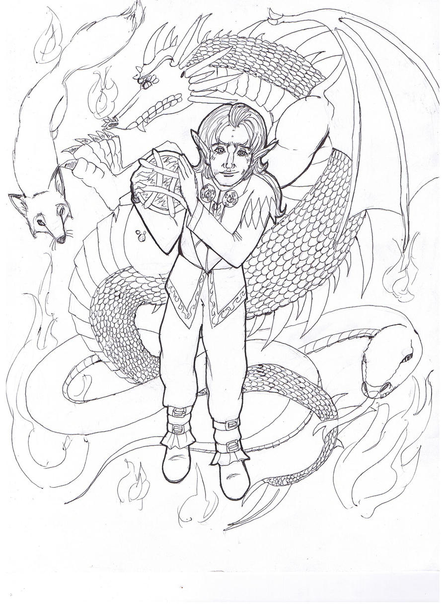 loki coloring pages - loki dragon coloring page by daggerravionfall on deviantart