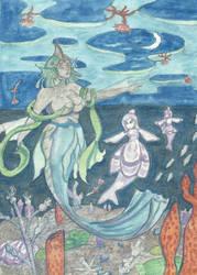 The Water Goddess by DaggerRavionFall
